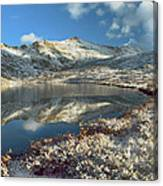 Geissler Mountain And Linkins Lake Canvas Print