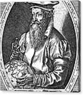 Gerardus Mercator, Flemish Cartographer Canvas Print