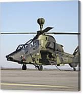 German Tiger Eurocopter At Fritzlar Canvas Print