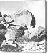 Giant Sandstone Boulders Canvas Print