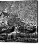 Glade Creek Grist Mill At Babcock Canvas Print