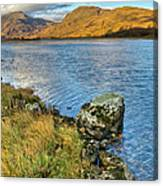 Glen Gour View Canvas Print