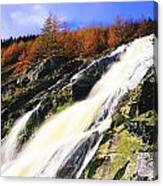 Glenmacnass Waterfall, Co Wicklow Canvas Print