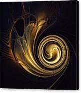 Golden Spiral Canvas Print