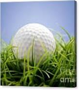 Golfball Canvas Print