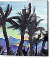 Good Morning From Hawaii Canvas Print