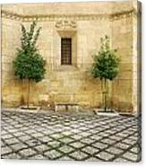 Granada Cathedral Doors And Other Details Canvas Print