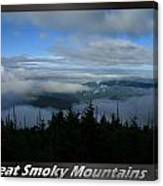 Great Smoky Mountains National Park 16 Canvas Print