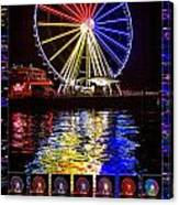 Great Wheel Poster Canvas Print