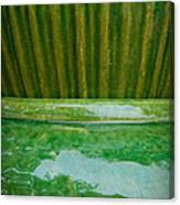 Green Pottery Canvas Print