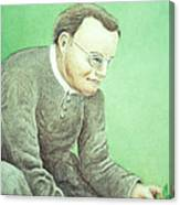 Gregor Mendel, Father Of Genetics Canvas Print