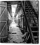 Grim Cell Block In Philadelphia Eastern State Penitentiary Canvas Print