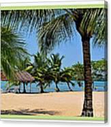Guatamala Beach Canvas Print