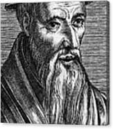 Guillaume Farel (1489-1565) Canvas Print