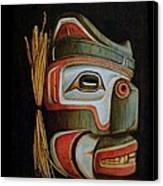 Haida Mask Canvas Print