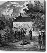 Harpers Ferry Insurrection, 1859 Canvas Print