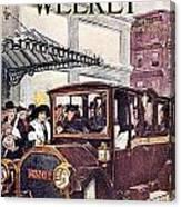 Harpers Weekly, 1913 Canvas Print