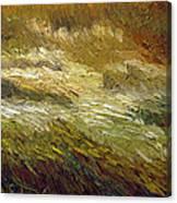 Harvest Grass Canvas Print