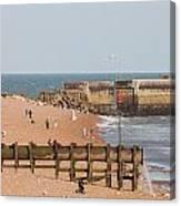 Hastings Beach Canvas Print