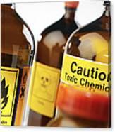 Hazardous Chemicals Canvas Print