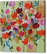 Hello Spring Canvas Print