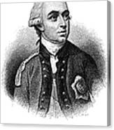 Henry Clinton (1738-1795) Canvas Print