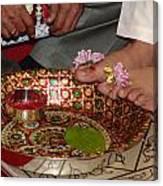 Hindu Wedding Ceremony Canvas Print
