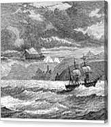 Hms Challenger, 1872-76 Canvas Print