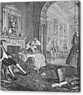 Hogarth: Marriage Canvas Print