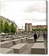 Holocaust Memorial - Berlin Canvas Print