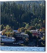 Home Sweet Kaslo Canvas Print