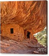 House On Fire Anasazi Indian Ruins Canvas Print