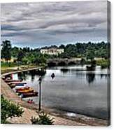 Hoyt Lake Delaware Park 0005 Canvas Print
