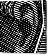 Human Ear Canvas Print