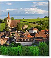Hunawihr Alsace Canvas Print