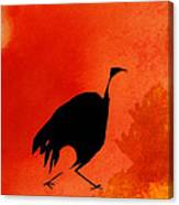 Hunter Bird Canvas Print