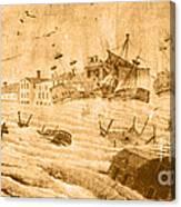 Hurricane, 1815 Canvas Print