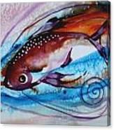 Hurricane Fish 28 Canvas Print