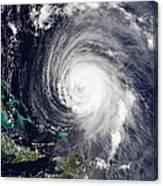 Hurricane Isabel Canvas Print