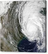 Hurricane Lili Canvas Print