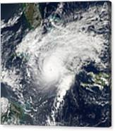 Hurricane Paloma Canvas Print