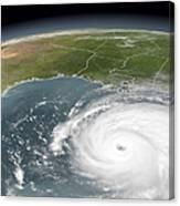 Hurricane Rita Canvas Print