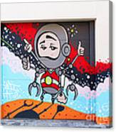 I Want To Go Into Space Man Canvas Print