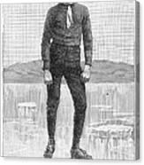 Ice Skater, 1880 Canvas Print
