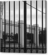Iron And Pillars Canvas Print