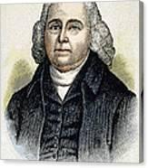 Isaac Backus (1724-1806) Canvas Print