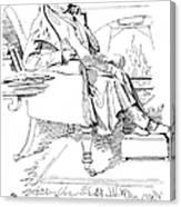 Isaac Disraeli (1766-1848) Canvas Print