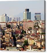Istanbul Cityscape Canvas Print