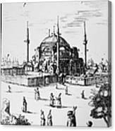 Istanbul: Hagia Sophia Canvas Print