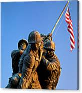 Iwo Jima Memorial Canvas Print